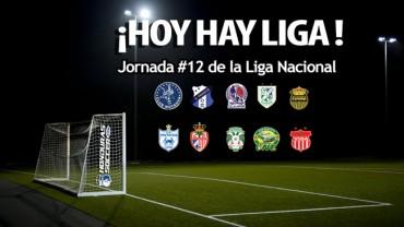 ¡Hoy hay Liga Nacional!, Jornada #12 del Torneo de Apertura