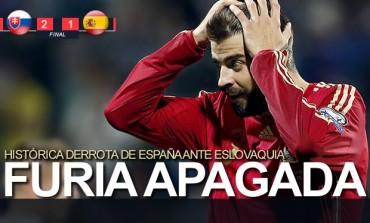 España se estrella en Eslovaquia
