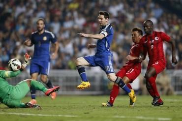 Argentina goleó sin piedad 0-7 a Hong Kong
