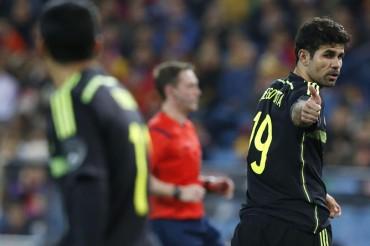 Diego Costa no fue convocado por Del Bosque