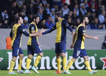 Importante victoria del Atlético de Madrid ante el Malmoe
