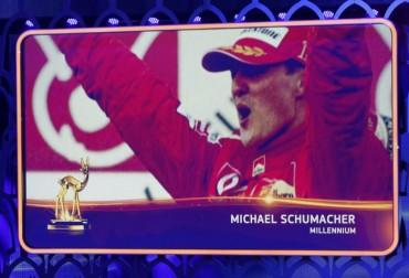 Schumacher está paralizado en una silla y no puede hablar