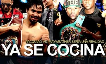 Combate entre Mayweather y Manny Pacquiao podría hacerse realidad