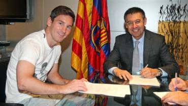"""Bartomeu: """"Leo Messi está feliz; me lo ha dicho su padre"""""""