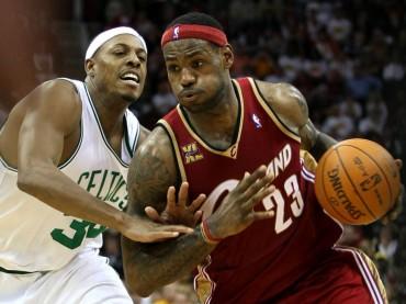 """Pierce: """"Si veo a LeBron por la calle no le daría un puñetazo"""""""