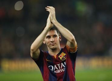 """Messi: """"El récord es para todas las personas que me ayudaron"""""""