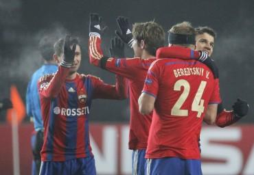 Berezutski resucita al CSKA y al Manchester City