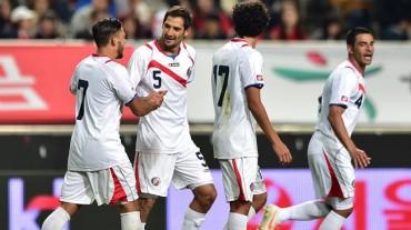 Costa Rica, con mayoría de mundialistas a la fecha FIFA