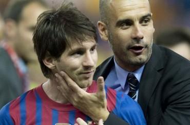 """Guardiola: """"Sería feliz de ver a Messi retirarse en el Barça"""""""