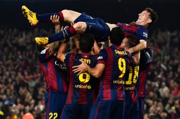 Messi supera a Zarra como máximo goleador de la historia de la Liga