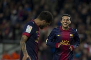 El Arsenal ofrecería 38 millones en enero por Alves y Pedro