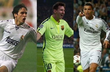 Con la edad de Messi, Raúl llevaba 48 goles y Cristiano 44
