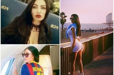 Soraja Vucelic, la presunta nueva novia de Neymar, en Barcelona