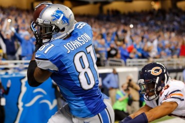 Calvin Johnson impuso nuevo récord en NFL