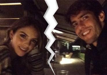 Kaká y Carlo decidieron separarse después de nueve años de matrimonio
