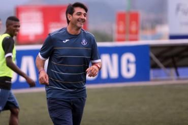 "Diego Vázquez: ""No queremos jugar repechaje"""