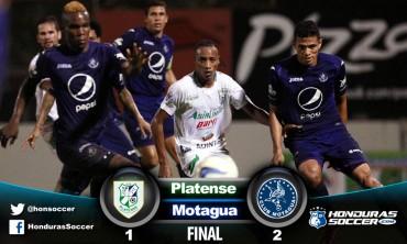 Motagua le remonta al Platense en el primer partido de Repechaje