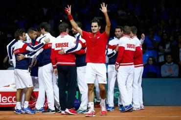 De la mano de Federer, Suiza se coronó en Copa Davis