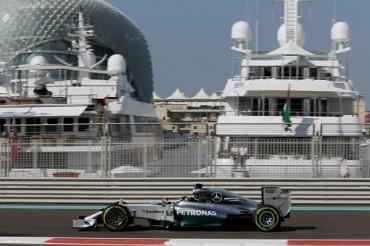 Hamilton, el más rápido en prácticas de Abu Dhabi