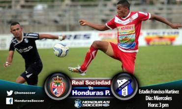 Hoy inicia repechaje en Tocoa entre Real Sociedad-Honduras Progreso