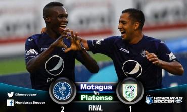 Motagua esta en semifinales al vencer al Platense