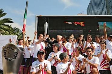 Izaron banderas para Juegos Centramericanos 2014