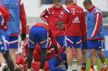 Philipp Lahm se fracturó el tobillo derecho