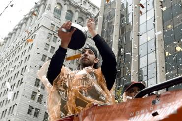SF celebró desfile de Campeones de la Serie Mundial