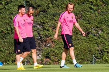 "Mascherano: ""Yo veo muy feliz a Messi"""