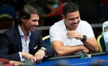 Nadal 'dribló' a Ronaldo en partida de póker