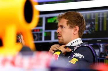 Vettel sadrá desde el 'pit lane' en Austin