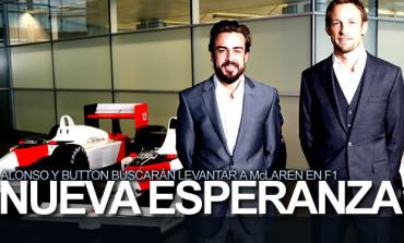 Alonso y Button, pilotos de McLaren para 2015