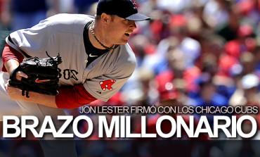 Confirmado, Jon Lester firmó con Chicago Cubs