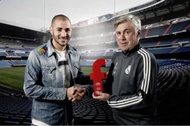 Benzema ha sido elegido el mejor jugador francés del año