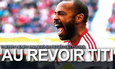 Thierry Henry se despidió del futbol profesional