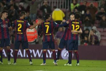 El Barça golea sin piedad al Huesca
