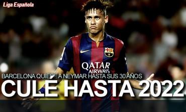 Barcelona quiere a Neymar hasta 2022
