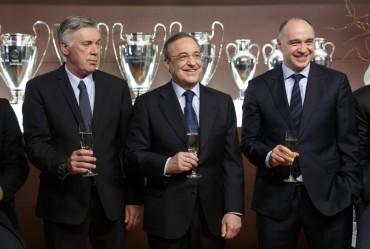 Real Madrid deseó felices fiestas al mundo