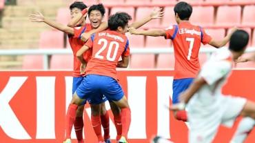 Los jóvenes surcoreanos aspiran a las semifinales