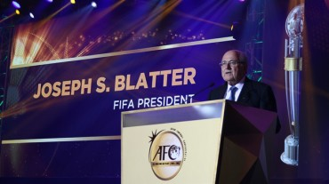 Blatter participa en la celebración del 60º aniversario de la AFC