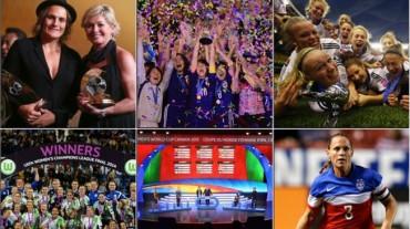 Los mejores momentos del fútbol femenino en 2014