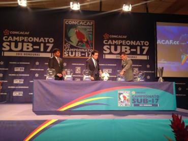 Listos los grupos para el premundial Sub 17 en Honduras