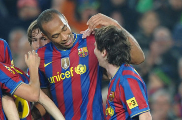 Leo Messi deja un mensaje para Thierry Henry