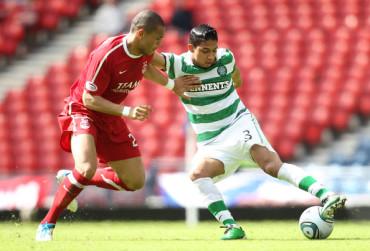 Dundee United venció al Celtic de Emilio Izaguirre