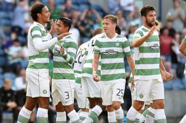 Emilio Izaguirre y Celtic están en la quinta ronda de la Copa Escocesa