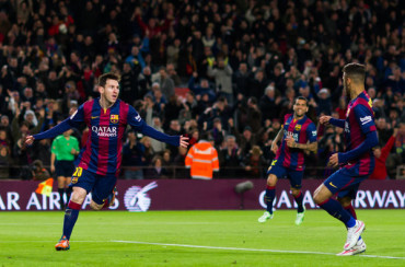 Un Messi estratosférico se come a un buen Espanyol