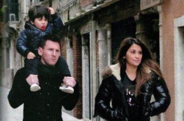 Messi y Antonella podrían casarse en Venecia