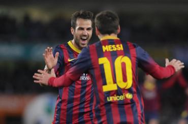 """Cesc Fàbregas: """"El Barça ahora es Messi y diez más"""""""