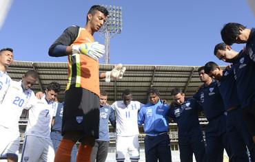 La selección sub-20 de Honduras se concentra este lunes