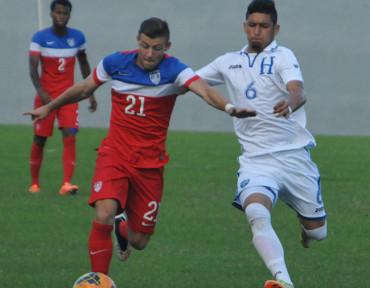 Selección Sub-20 de Honduras pierde los dos amistoso ante EEUU
